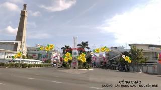 Tập đoàn Sao Mai chi hơn 9,3 tỷ đồng trang trí đô thị đón xuân