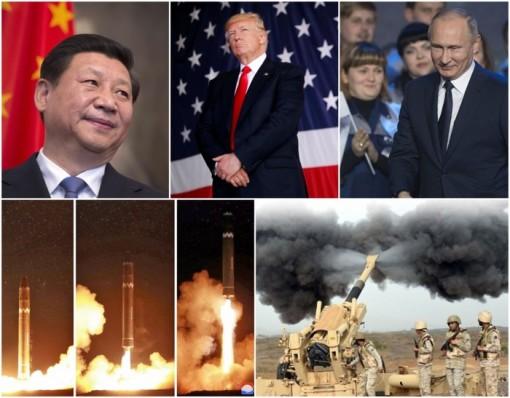 Dự báo các điểm nóng địa chính trị thế giới năm 2018