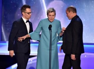 Phim thắng giải Quả cầu vàng tiếp tục tỏa sáng ở giải SAG