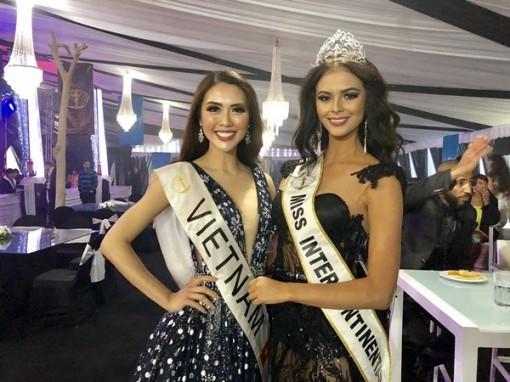 Tường Linh trở thành Hoa hậu được yêu thích nhất ở Miss Intercontinental 2017