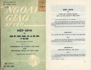 Làm sống lại những tài liệu lưu trữ về Hội nghị Paris sau 45 năm