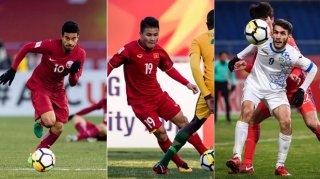 Đội hình tiêu biểu U.23 châu Á: Tiến Dũng, Quang Hải và Xuân Trường được xướng tên