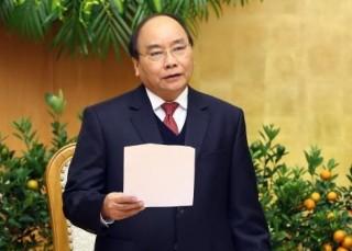 Thủ tướng: Không lơ là, chủ quan, thỏa mãn với kết quả đạt được của tháng 1-2018