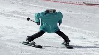 Olympic PyeongChang 2018: Độc đáo cuộc thi robot trượt tuyết đầu tiên trên thế giới
