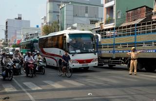 Đảm bảo trật tự an toàn giao thông mùa lễ hội sau Tết