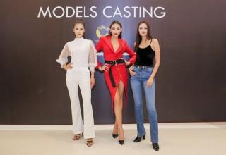 Dàn chân dài Hoa hậu Hoàn vũ Việt Nam thử sức với sàn catwalk