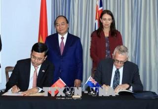Tuyên bố chung thúc đẩy quan hệ đối tác toàn diện hướng tới đối tác chiến lược Việt Nam - New Zealand