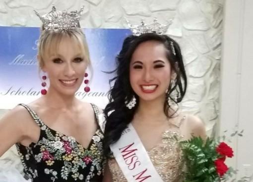 Sinh viên gốc Việt đăng quang hoa hậu