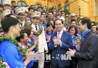 Chủ tịch nước Trần Đại Quang: Tuổi trẻ phải luôn là lực lượng xung kích