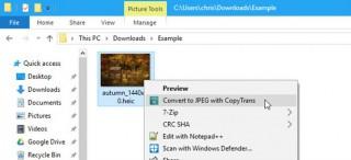 Cách mở tập tin ảnh HEIC của iPhone trên Windows