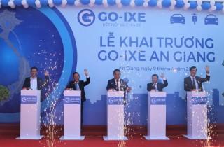 Ứng dụng đặt xe của Việt Nam GO-IXE đã có mặt tại Châu Đốc