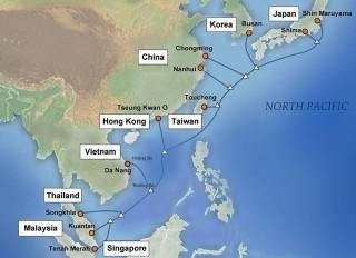 Internet từ Việt Nam đi quốc tế bị ảnh hưởng bởi sự cố cáp APG