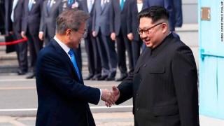 Cận cảnh giây phút quan trọng của cuộc gặp thượng đỉnh Liên Triều