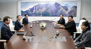 Thượng đỉnh liên Triều 2018: Bắt đầu đàm phán về vấn đề phi hạt nhân hóa
