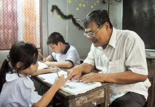 Tấm lòng người cựu chiến binh với lớp học tình thương