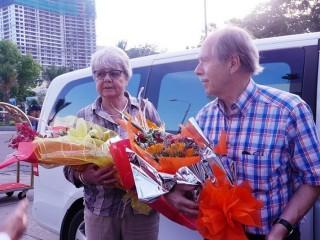 Hai nhà khoa học đoạt giải Nobel đặt chân đến Việt Nam
