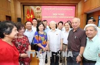 Tổng Bí thư Nguyễn Phú Trọng: 'Lò' nóng lên rồi, nhưng còn nhiều việc phải làm mạnh hơn