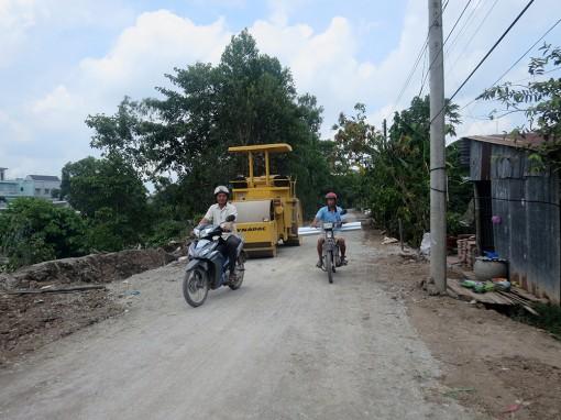 Xã Tây Phú nỗ lực về đích nông thôn mới