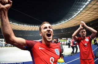 Đội tuyển Anh chốt danh sách dự vòng chung kết World Cup 2018