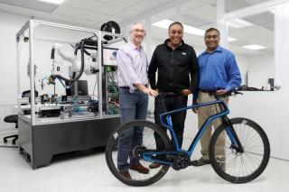Chiếc xe đạp in 3D đầu tiên trên thế giới sắp sửa ra mắt