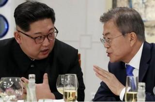 Tổng thống Hàn Quốc gặp nhà lãnh đạo Triều Tiên ở làng Panmunjom