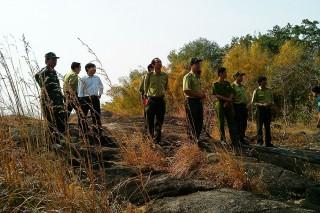 Những người lính giữ rừng