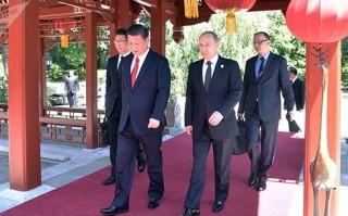 Quan hệ Nga-Trung đang ở mức tốt nhất trong lịch sử