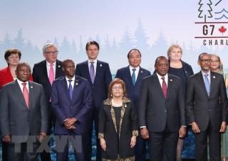 Thủ tướng có bài phát biểu quan trọng tại hội nghị G7 mở rộng