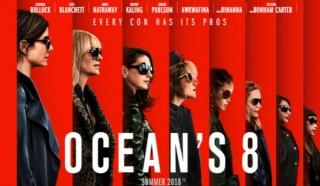 'Ocean's 8' thống trị các rạp chiếu phim khu vực Bắc Mỹ