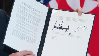 Toàn văn Tuyên bố Chung Hội nghị Thượng đỉnh Mỹ-Triều