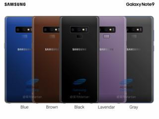 "Lộ diện 5 màu siêu ""hot"" của Galaxy Note 9"