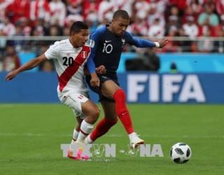 Vất vả thắng Peru 1-0, Pháp nhận vé đi tiếp