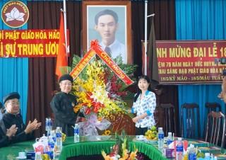 Nhiều tổ chức, đoàn thể chúc mừng Đại lễ 18-5
