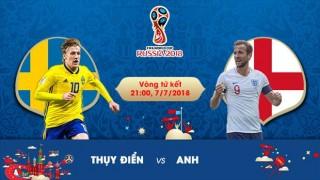 Thụy Điển vs Anh, 21h00 ngày 7-7: Không được phép chủ quan
