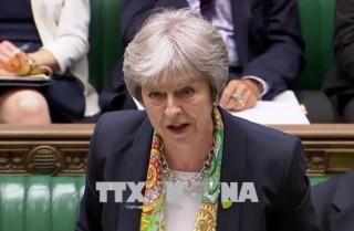 Thủ tướng Anh quyết tâm bảo vệ kế hoạch Brexit