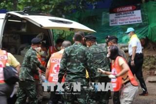 Thay đổi kế hoạch cứu hộ 5 thành viên còn lại của đội bóng nhí Thái Lan