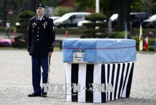 Triều Tiên đề xuất đàm phán cấp tướng về trao trả hài cốt lính Mỹ