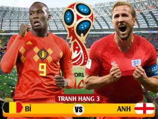 Những điều cần biết về trận tranh hạng 3 World Cup 2018