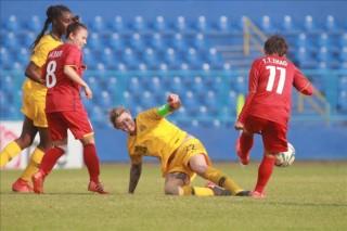 Đội tuyển nữ Việt Nam dồn sức cho đấu trường Asiad 2018