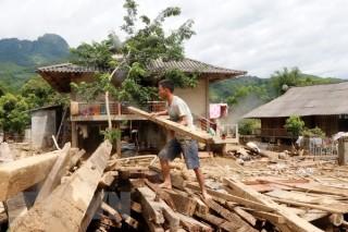 Yên Bái: Tập trung vệ sinh môi trường, phòng chống dịch bệnh sau lũ