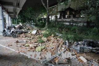Hàng trăm người thương vong trong vụ động đất 7 độ richter tại Indonesia