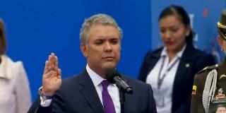 Tổng thống đắc cử của Colombia Ivan Duque tuyên thệ nhậm chức