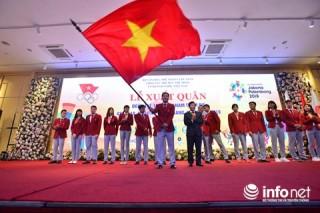 Đoàn Việt Nam đặt mục tiêu 3 HCV tại Asiad 18