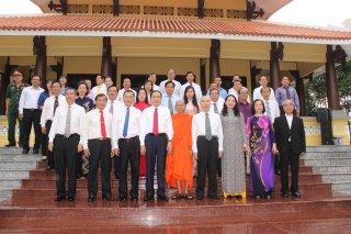 Chủ tịch Ủy ban Trung ương MTTQ Việt Nam dâng hương kỷ niệm 130 năm Ngày sinh Chủ tịch Tôn Đức Thắng