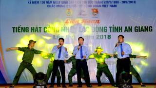 Công đoàn cơ sở Công ty Cổ phần Tập đoàn Lộc Trời đoạt giải nhất Liên hoan Tiếng hát CNLĐ tỉnh An Giang lần thứ I-2018