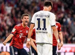 Nhà vô địch Bayern Munich khởi đầu ấn tượng tại Bundesliga