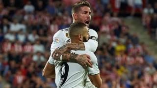 Benzema lập cú đúp, Real đè bẹp Girona