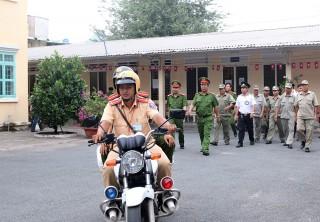 Công an TP. Châu Đốc tăng cường phòng, chống tội phạm, đảm bảo an ninh trật tự