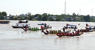 Hấp dẫn giải đua thuyền rồng Báo An Giang