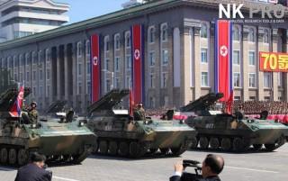 Những hình ảnh ấn tượng trong lễ duyệt binh mừng 70 năm Quốc khánh Triều Tiên